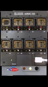 eMMC S8 Sockelboard zur eMMC Duplizierung